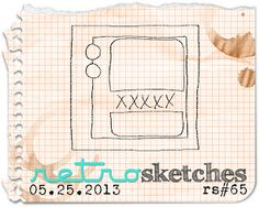 retro sketches : a challenge: retrosketches #65...  Saturday, May 26, 2013