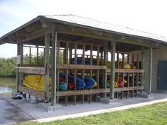 State Park Kayak Storage - Photo © by George E. Sayour