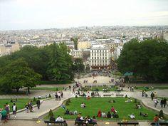 Bonjour Paris - Looking Over Paris from Sacre Coeur