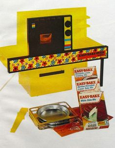 1972 Vintage Easy Bake Oven Toy Advertisement