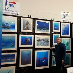 New York Dive Show BTS coming soon with Pascal's 16th exhibition since 2000. pascal lecocq #art #blue #painterofblue #painting #painter #artist #contemporaryartcurator #artstack #artisticallysocial #in #plshow http://ow.ly/ZZWHG