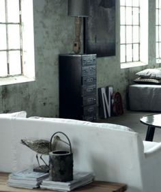 1000 images about deco interior on pinterest loft cabinets and challenges - Decoration loft industriel ...