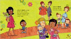 Wonderful inside spreads, check out the diversity, so inspiring. Published by Scholastic http://clubs-kids.scholastic.co.uk/products/20823