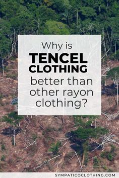 Details where rayon is concerned reveal the continuous evolution in technology that has led to Tencel, rayon's most environmentally friendly form. Learn more on our blog. | Sympatico Clothing |