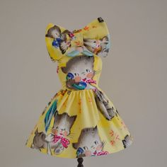 Sweet Petite Vintage Kitten Dress and by SweetPetiteShoppe on Etsy