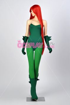 Batman - Poison Ivy Cosplay Costume Version 01, $114.00