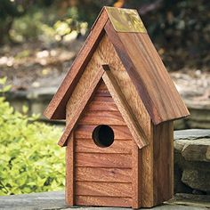 Birdhouses  Wrental House 10 Inch High Outdoor Space makeover <3 This is an Amazon Associate's Pin. View the item in details on the website by clicking the image