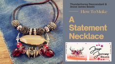Descendants, Jesse James, Beading, My Etsy Shop, How To Make, Handmade, Jessie James, Beads, Hand Made