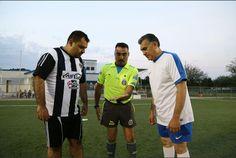 Promueven en el Congreso actividad física mediante cuadrangular de fútbol