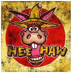 hee haw tv show -
