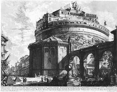 Vedute di Roma by Giovanni Battista Piranesi. Neoclassicism. capriccio