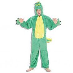 Comprar Disfraz Dino Verde para Adultos