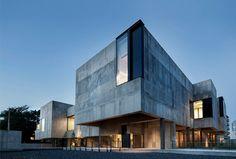 An Open-Plan Music School Built From Concrete By Nikken Sekkei