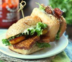 Teriyaki Tofu & Pineapple Sandwiches