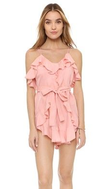Alice McCall Keep Me There Romper | SHOPBOP