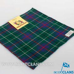 Duncan Modern Tartan Handkerchief