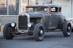 4-corner-idle: Model A Ford 5 window coupe