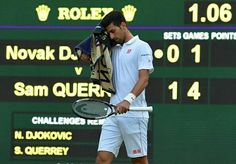Shock defeat: Novak Djokovic loses to Sam Querrey at Wimbledon 2016 - http://www.1hrsport.com/shock-defeat-novak-djokovic-loses-to-sam-querrey-at-wimbledon-2016/