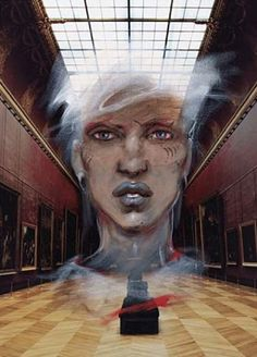 Ghosts of The Louvre by Enki Bilal