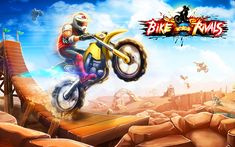 Bike Rivals is one of the new physics-based motocross game from Miniclip it is the most strong aggressive and fast rider in order to get the three stars