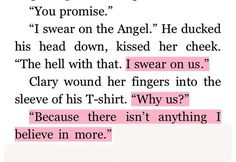 Quote: City of Fallen Angels