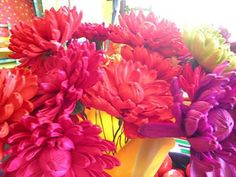 Corn Husk Flowers