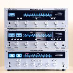 old school Marantz receiver