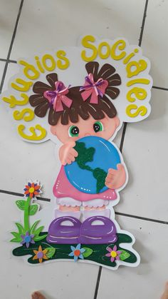 #gomaeva Foam Crafts, Crafts To Make, Crafts For Kids, Classroom Charts, Classroom Themes, Class Decoration, Stage Decorations, Ideas Para Fiestas, Decorate Notebook