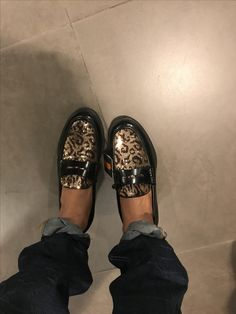Loafers with Sequins