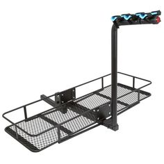 New Rage Powersports 60 Folding Cargo Carrier Basket Rack Combo 2 Hitches online - Bestshoppingideas Hitch Bike Rack, Bicycle Rack, Vw Camping, Minivan Camping, Cargo Rack, Cargo Bike, Kayak Rack, Kayak Storage, Receiver Hitch