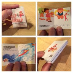 "Elf on the Shelf printable, ELF SIZED ""The Elf on the Shelf"" book. I created it into an easy to use template that anyone can print, cut, and glue together. When you click the photo from your computer, the zip folder will automatically download."