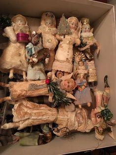 ️Antique Cotton Ornaments
