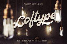 Loftype Font + Mockup by Gleb Guralnyk on @creativemarket