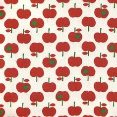 Stof - Appels klein rood