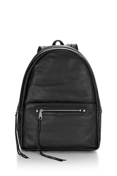 Always On Regan Backpack - This sleek leather backpack holds all you need, including a 13-inch laptop, and has an exterior pocket for easy access to your essentials. And those straps—like clouds. It's finished with our Regan family detailing and tassels just cuz.   Always On: Places to go, people to see, and so much to carry. These pieces were thoughtfully designed to keep up with you. Ready for anything? Yep.
