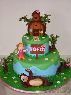 Cupcake House: !! Masha e o Urso !!