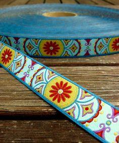 Farbenmix Webband EASTWIND Breite: 1,5cm stoffe-und-zubehoer baender-und-borten