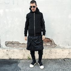 """""""In love with this fit  @chromeheartsofficial  #RickOwens #rickgang #loveforrickowens #rickowenslove #rickowensadidas #rickowensdrkshdw #drkshdw…"""""""
