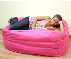 Bean bags zippered cover in Hot Pink fabric Hot Pink Furniture, Bean Bag Furniture, Futon Slipcover, Slipcovers, Pink Bean Bag, Futon Sets, Futon Covers, Bean Bags, Pink Fabric