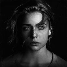 pinterest.com/fra411 #face - Abigail by Brian Ingram, via Behance