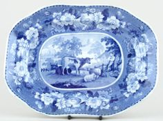 Carey - Domestic Cattle Series - Meat Dish or Platter c1825