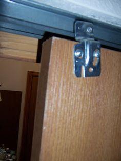 Closet Door Makeover, Closet Doors, Coral Painted Dressers, Bedroom Doors, Cabinet Doors, Door Handles, House Design, Frugal, Modern