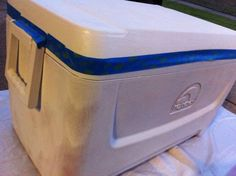 Tips and Tricks to Painting Coolers   The Odyssey