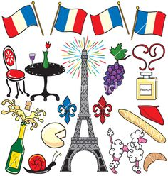 YAY Images - Paris, France clip art party by Boohoo Free Clipart Images, Art Clipart, Vector Free, French Images, French Clipart, French Websites, Image Paris, Paris Images, Learning