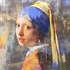 Foto 'Meisje met de parel' - Van Bellen Art