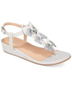Badgley Mischka Talia Bow Sandals, Little Girls (11-3) & Big Girls (3.5-7) | macys.com