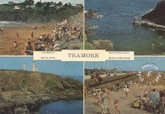 1980 – TRAMORE, CO. WATERFORD, IRLANDA - the beach – beach, mare, panorama, sea, spiaggia