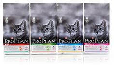 Seymourpowell unveils new packaging designs and visual identity for the Nestlé Purina PRO PLAN Cat Food brand with a completely new look for pan European roll out