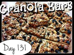 Granola Bars Recipe [DAY 131]  ★ watch the video: https://www.youtube.com/watch?v=KMG5hLAumoY&list=PLGRnDhMJALhGSPvJl_zKgtNg2YZPaYf1S&index=1 ★    I'm trying A NEW RECIPE OF Laura in the Kitchen EVERY DAY and sharing its conversion into the metric system, come and join me on my yummy challenge! :)