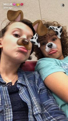 Millie and Gaten again!